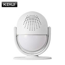 KERUI M6 inteligentny System alarmowy wprowadzić drzwi witamy dzwonek domu sklep dzwonek witamy urządzenia bezprzewodowego podczerwieni Anti theft Alarm w Czujnik i detektor od Bezpieczeństwo i ochrona na
