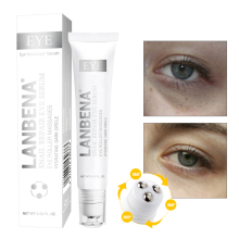LANBENA Snail Serum Anti-Puffiness Remover Dark Circles Wrinkles Anti-Aging Hyaluronic Acid Moisturizing Eye Essence !