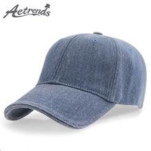 [AETRENDS] 2018 Brand 100% Cotton Men Baseball Cap Bones Caps Polo Hat Z-3025