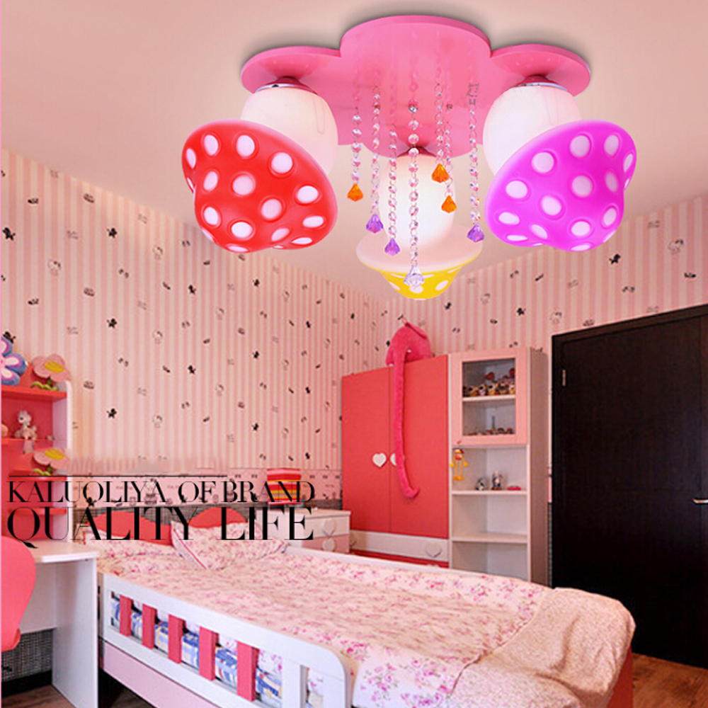 Kids bedroom ceiling lights - Kindergarten Kids 3 Head Led Ceiling Lights Bedroom Living Room Led E27 110v 220v Children
