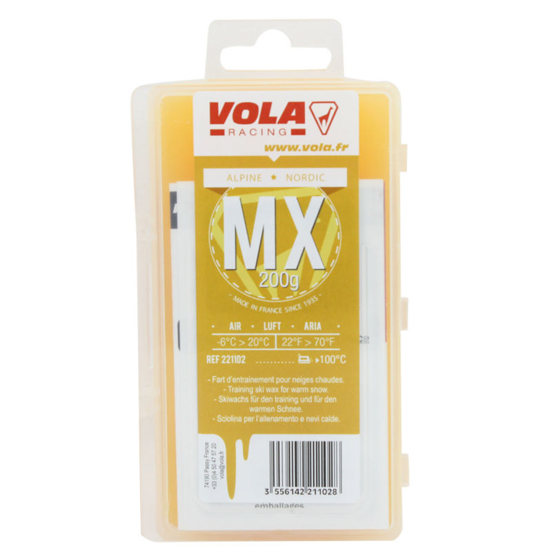 Купить с кэшбэком VOLA Alpien snowboard and Nodic waxes for use in different kinds of snow Made in France