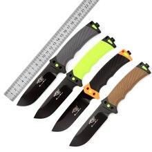 Nuevo GANZO de G803 cuchillo más cuerda de al aire libre Camping caza supervivencia táctica de aventura en la selva cuchillos