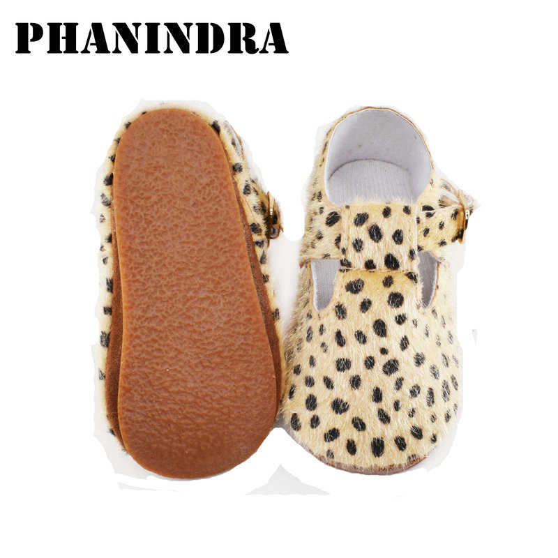 2705ddd0fd64 Detail Feedback Questions about 2019 New baby Shoes moccasins leopard dot  rubber hard sole kid baby walk shoes buckle baby children booties first  walker on ...