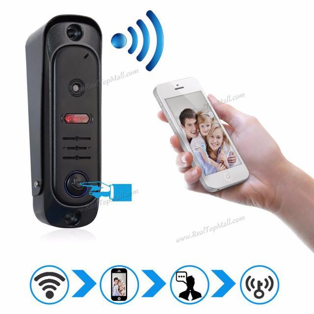 Two Way Intercom Wireless Wifi Video Doorphone Door Entry Security