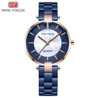 MINIFOCUS Quartz Lady Wrist Watch Watches Women Dress Women's Watches Brand Luxury Fashion Ladies Wristwatches Relogio Feminino