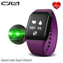 Cjlm V18 Smart Bracelet Blood Oxygen Fitness Tracker Waterproof Wristband Heart Rate Monitor Pedometer Health Sport Smartband