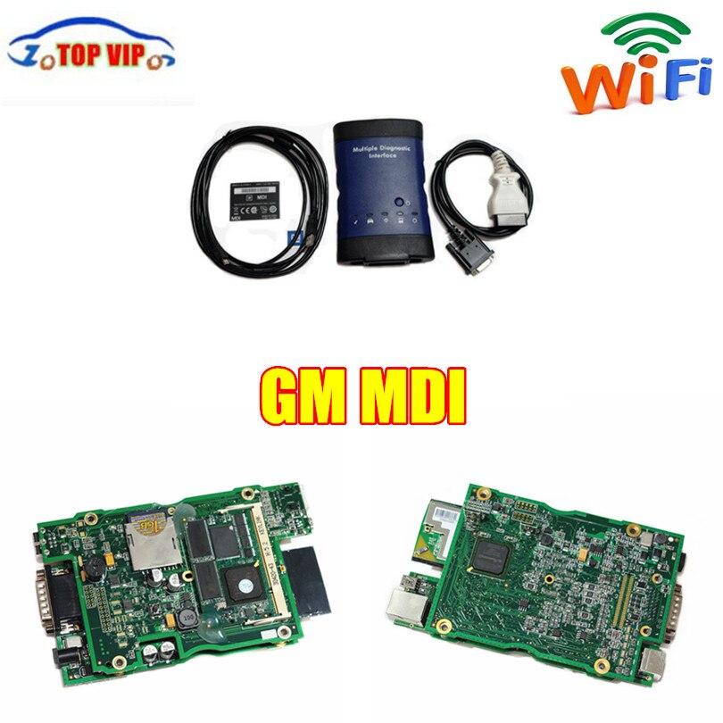 DHL Freies Porto Beste Qualität Für GM MDI Mit WIFI Software Für GM NDI Für Opel mdi Auto Diagnose-Tool auto Auto Scanner