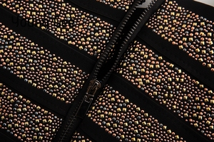 Image 5 - Jong Gee Punk Stijl Korte Glitter Sequin Bustier Vrouwen Sexy Bralette Bandage Crop Top Femme Elastische Buis Camisoles Tops Mujer