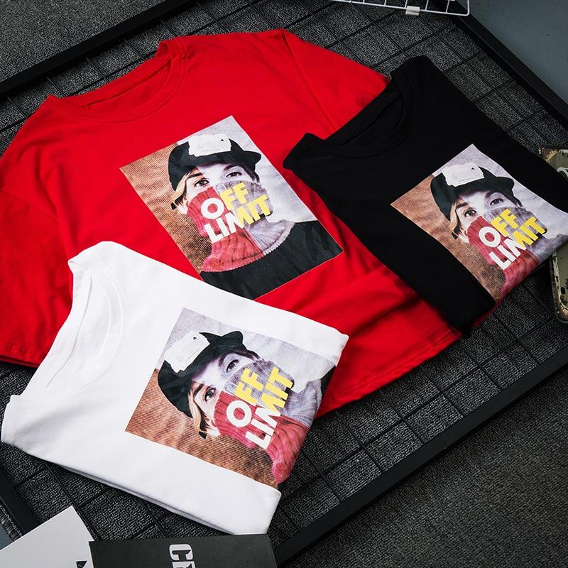 Image 4 - 여름 신작 하라주쿠 캐릭터 아바타 프린트 반소매 T 셔츠 여성용 감미로운 둥근 목 풀 대형 셔츠-in T-Shirts from Womens Clothing