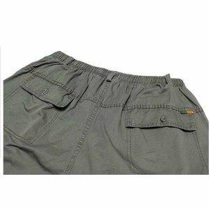 Image 4 - Брюки карго большого размера, мужские шаровары в стиле хип хоп, повседневные свободные мешковатые широкие брюки с карманами, мужская одежда
