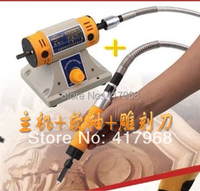 FREE SHIPPING Electric Chisel Carving Tool Wood Carving Machine Woodworking Chisel Host Chisel Shaft Video Guide