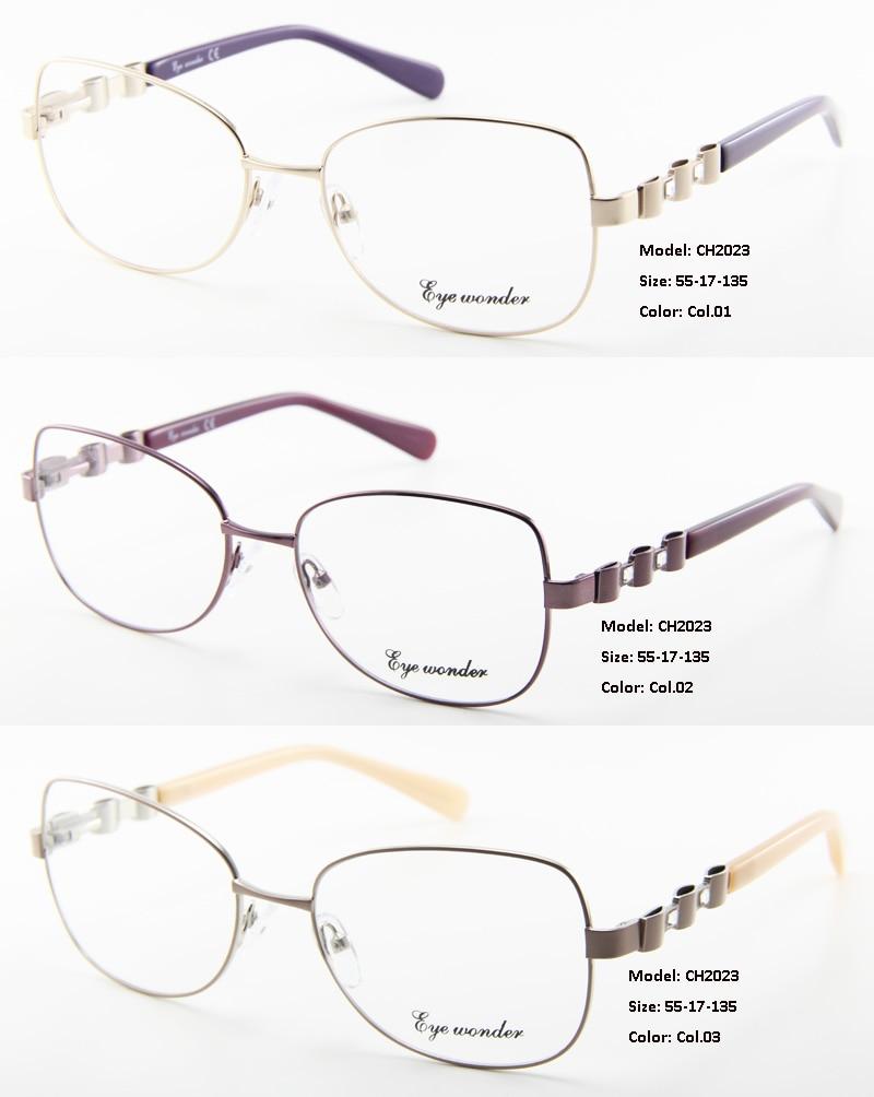 Damenmode Gläser Grau Optische Wunder Designer De Augen Oculos Rahmen HOq561wnS