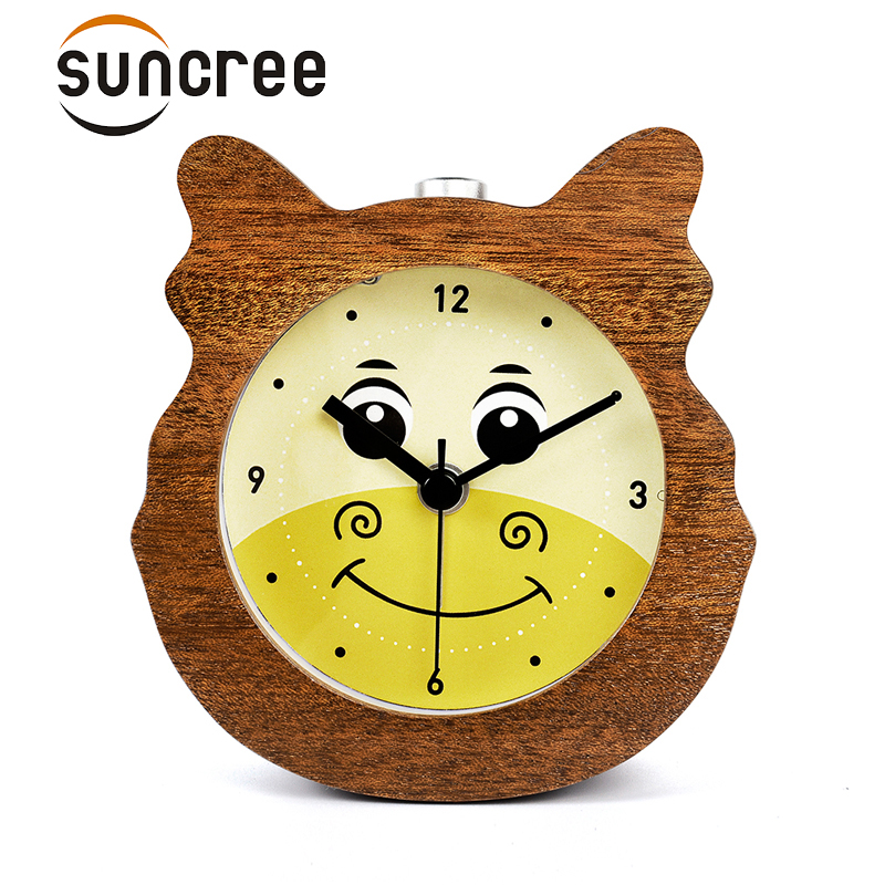 Suncree Chinese Zodiac series Dragon healthy alarm clock No Ticking Snooze Back light Digital Clock, Desktop Table Clocks