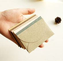 New 10 pcs/lot Vintage Romantic Mini Paper Envelope DIY Gift Envelope(China)