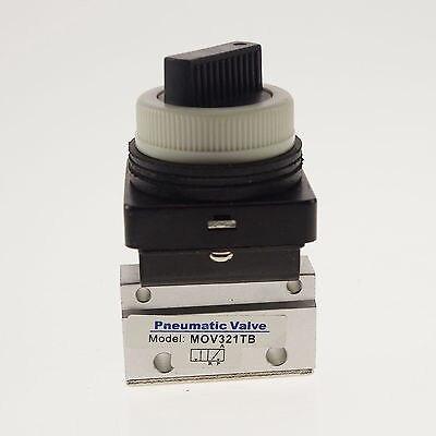 G1/8 2 position 2 way mechanical valve selective knob * 1