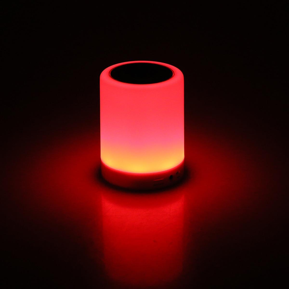 Led smart night lamp - Aliexpress Com Buy Smart Night Lamp Deep Stereo Bass Wireless Bluetooth Speaker Music Loudspeaker Colorful Led Light From Reliable Led Tape Light