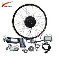 36V 500W Electric bike conversion kit Front Rear Motor without battery S900LCD display Brushless Hub Motor Bicicleta ebike kit