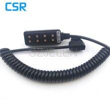 Nieuwe D Tap Mannelijke om 4 Port D Tap Vrouwelijke Hub Adapter Splitter voor Fotografie Power