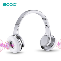 Original SODO MH1 NFC Wireless Bluetooth Headphone Twist out a Mini Speaker wireless Headset with microphone for Mobile phones