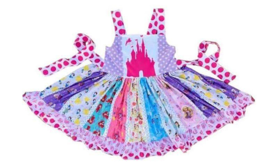Frozen Inspired Anna Coronation Dress Girls Costume Size 2T-10T ZG9