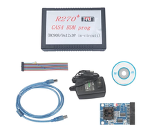 The original R270+ online programmer R270+ For CAS4 BDM PROG V1.30 software Full set bdm 100 ecu programmer bdm100 v1255 universal chip tunning tool bdm 100 with free shipping