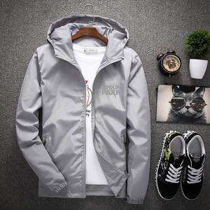 KUYOMENS Men's Jackets Waterproof Clothing Hooded-Coats Men Outerwear Spring Male Casual