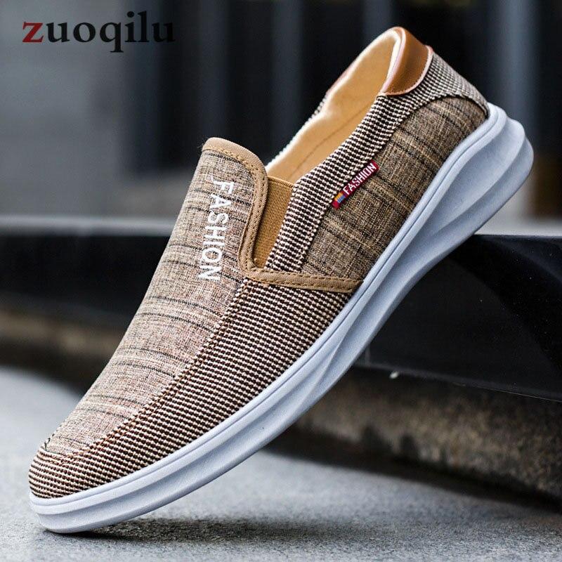 Male Footwear Canvas-Shoes Shoe-Designer Plimsolls Breathable Brand Men Luxury China