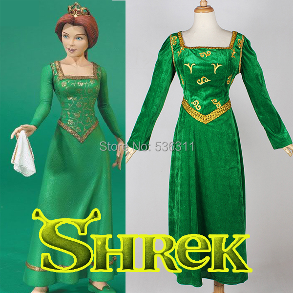 halloween costumes for women Custom-made Shrek the Musical adult Princess Fiona Dress Cosplay Costume  sc 1 st  AliExpress.com & halloween costumes for women Custom made Shrek the Musical adult ...