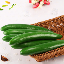 4pcs Artificial Cucumbers Simulation Fake Vegetable Photo Props Home Decoration High quality Hot Sale