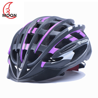 MOON carbon Helmets Ultralight Integrally molded Highway Road Bicycle cycling safety Extreme Sports Helmet