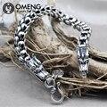Top-Grade Homens Dragão Pulseira Pure 925 pulseira de prata Esterlina 925 Homens Jóias de prata Thai pulseira para homens Jóias OSL064