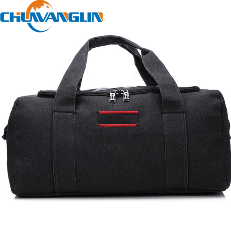 Chuwanglin mode bagages emballage Cubes sac Weekender voyage Duffle sac hommes homme voyage sacs épaississement toile ZDD11061