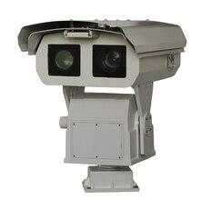 0,3-12 км длинная Тепловизионная PTZ ip-камера, тепловизионная камера, инфракрасная тепловизионная камера