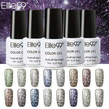 Elite99 Alle 30 teile/satz Starry Bling Gel Lack Long Lasting 7 ml Glitter Nail Gel Polish UV Tränken Weg Nagel kunst Maniküre Kleber