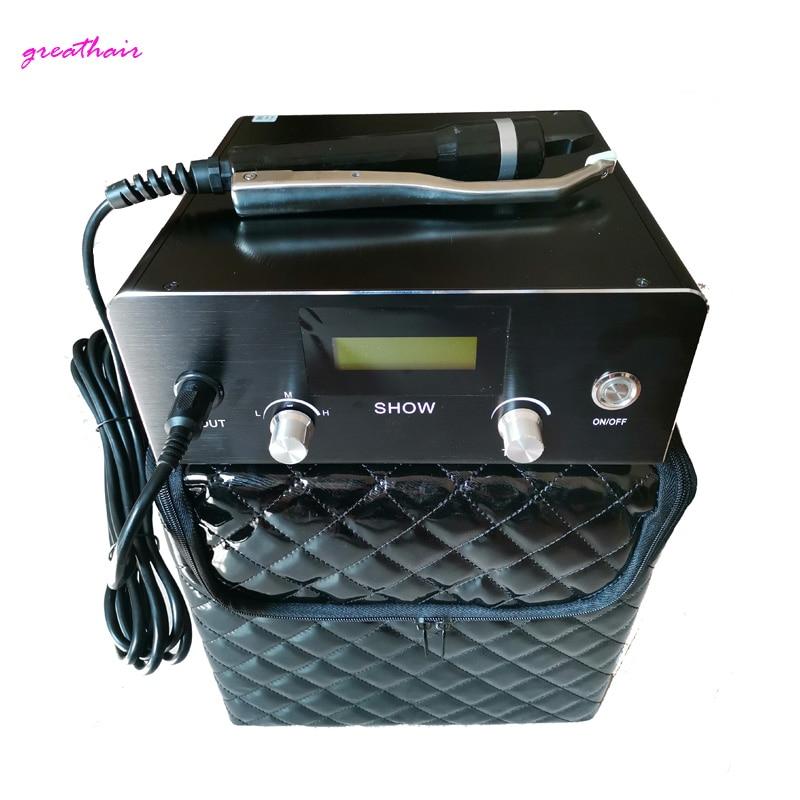 1pc US/EU/UK plug Profession Latest Digital Not hot Ultrasonic Keratin For cold Fusion Hair Extensions Machine Connectors Tools