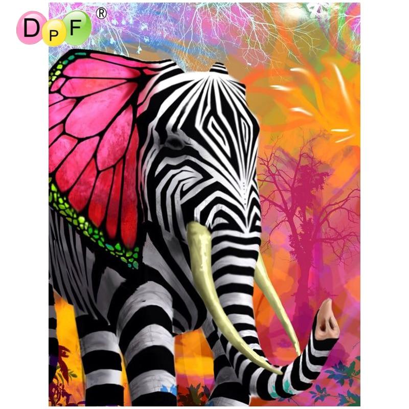 Monkey 5D Diamond Painting DIY Animal Broderie Cross Stitch Decor Artisanat