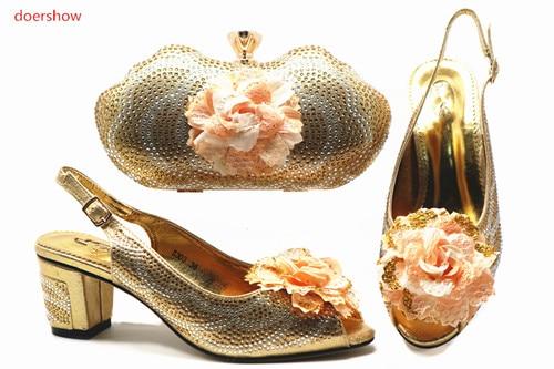 Mariage or Pour Et Chaussure Pu Htb1 2 De Chaussures lavande Ensemble Italie Sacs Sac Main Africain Dame argent rouge Italien Assorties D'été Doershow Ciel À xU1qZwtAzx