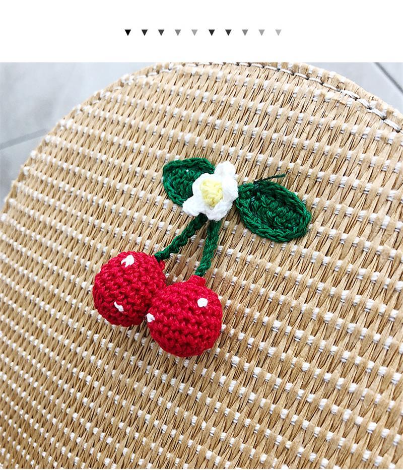 Borse Brown A Estate Paglia Bag Body Borsa Cross white Di Spalla Rotonda Delle Boemia Sacchetto Della Rattan Tessuto In Donne Handmade Spiaggia Cerchio dw1A6