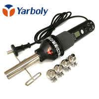 Pistola de calor 8018, 450W, pantalla LCD, temperatura ajustable, estación de reparación de soldadura, pistola de aire caliente para reparación de soldadura IC SMD