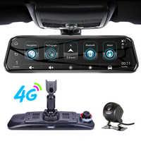 ANSTAR Special Bracket H58 10'' HD 1080P DVR 4G Android GPS Wifi Rearview Mirror Auto Camera Dash Cam Night Vision Registrar