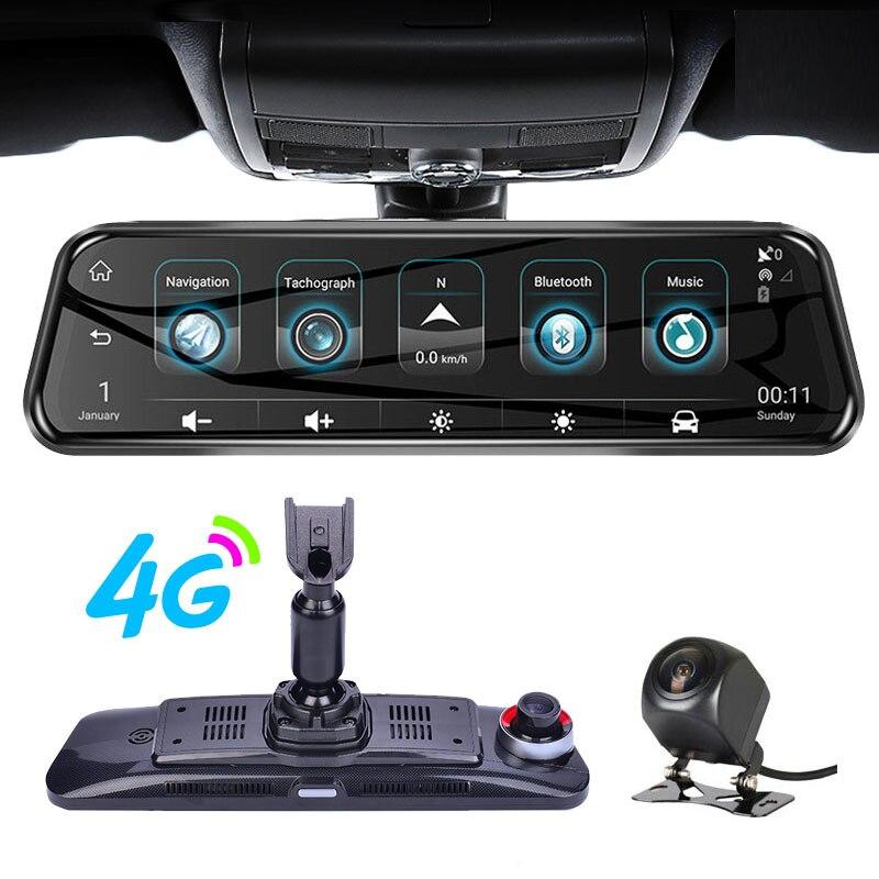 Anstar suporte especial h58 10 hd hd hd 1080 p dvr 4g android gps wifi espelho retrovisor câmera automática traço cam visão noturna registrador