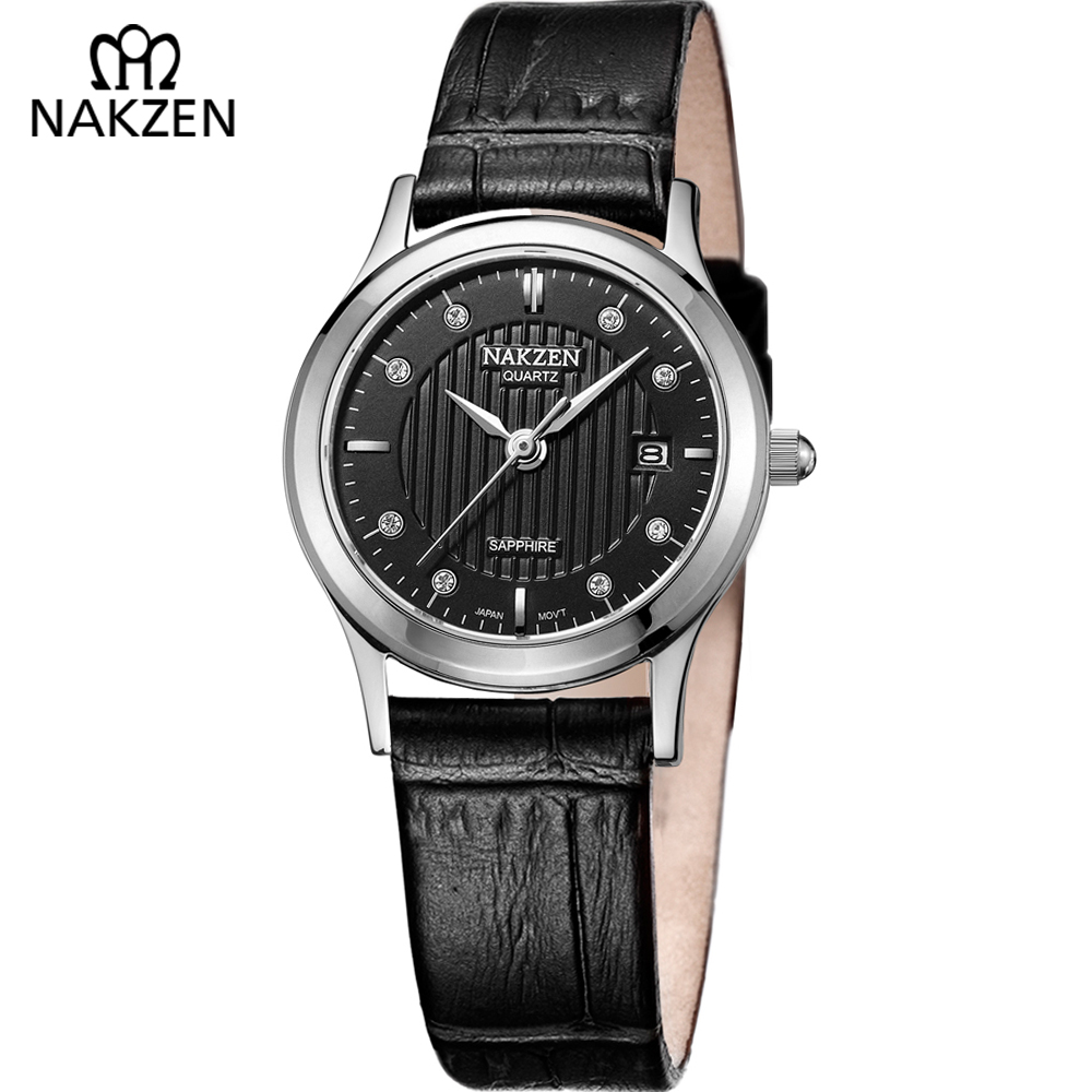 Women Elegant Fashion Watches Genuine Leather Strap G Small Dial Quartz Shock Watch Ladies Casual Black Wristwatch Clock Gift цена