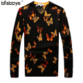 2016  new  fashion  Autumn  modal sweater V-Neck Pullover Mens Sweaters  Fall Knitwear brand clothing   T6060