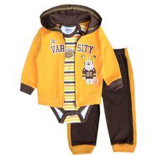 Комплект одежды для маленьких девочек; пальто; боди; брюки; Детский костюм; Одежда для новорожденных мальчиков и девочек; roupas bebes meninos; детская одежда