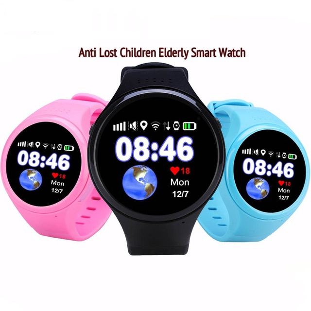 GPS WIFI LBS AGPS Tracking Children Old T88 Kids Smart Watch SOS Passometer G-sensor Watch For Ios Android 1.22 Touch Screen скатерть angel ya children tsye zb266 88