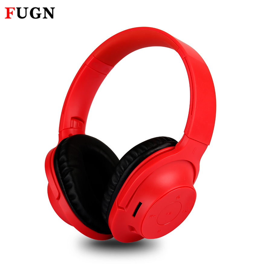 FUGN Bluetooth 3d Stereo Gaming Headphones Quality Casque Deep Bass Game Earphone Headset with Mic TF FM Radio for PC Gamer 2017 scomas i7 mini bluetooth earbud wireless invisible headphones headset with mic stereo bluetooth earphone for iphone android