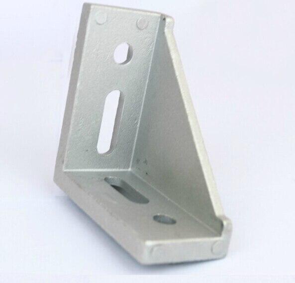 4080 Corner Angle Bracket Joint Aluminum Profile Extrusion CNC DIY
