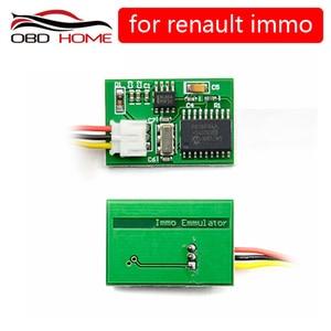 OBD2 New Arrival Emulator Immo Immobilizer Emulator For Renault ECU Decoder Used To Decode The Ecu No Pin Code