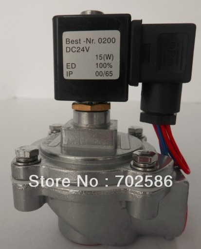 "1''  and 3/4"" right-angle solenoid pulse valve which can replace the valve of ASCO brand"