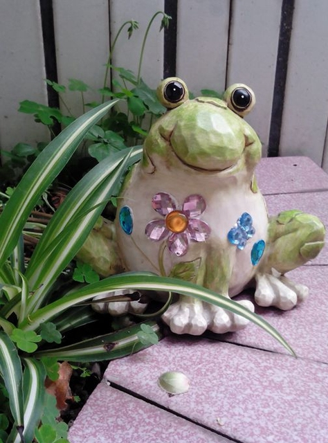 Resin Crafts Frog Art Gifts Garden Patio Decorations Home Furnishings 3352